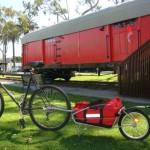 Maya Cycle bicycle cargo trailer