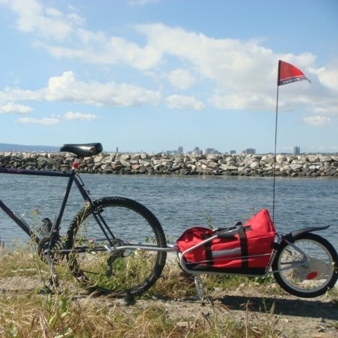 Maya Cycle bicycle cargo trailer