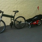 Courier Bike Trailer Maya Cycle