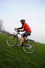 Bike Climbing Hill