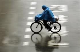 Riding In The Rain Bicycle Safety Maya Cycle