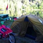 Maya Cycle camping