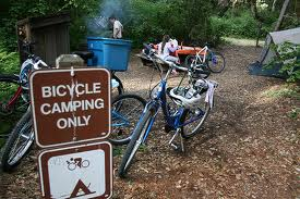 Bike Camping Only