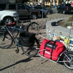 Bike Trailer Picnic