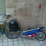 Bike Trailer Softball