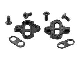 clipless bike pedals and components