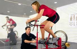 bike fitting and measurement