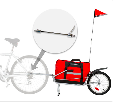 Maya Cycle bike trailer and Quick Release