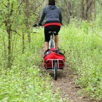 bike camping bike trail riding