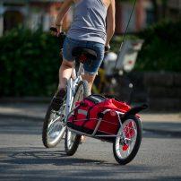city commuting bike trailer